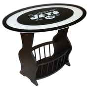 Fan Creations NFL Logo End Table; New York Jets