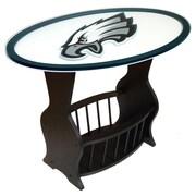 Fan Creations NFL Logo End Table; Philadelphia Eagles