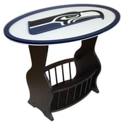 Fan Creations NFL Logo End Table; Seattle Seahawks