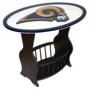 Fan Creations NFL Logo End Table; St. Louis Rams