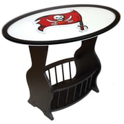 Fan Creations NFL Logo End Table; Tampa Bay Buccaneers