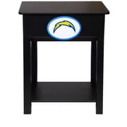 Fan Creations NFL End Table; San Diego Chargers