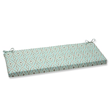 Pillow Perfect Centro Outdoor Bench Cushion; Mist