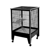 A&E Cage Co. Medium 2-Level Small Animal Cage; Black