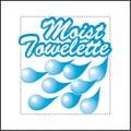 NATUREHOUSE (1000 per Carton) Fresh Nap Moist Towelettes in White/Lemon