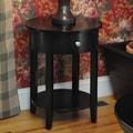 Wildon Home   Bay Shore End Table; Black