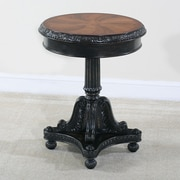 Ultimate Accents Preswick Marquetry End Table