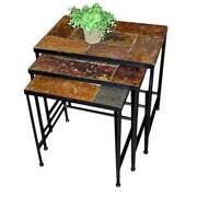 4D Concepts 3 Piece Nesting Table Set