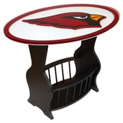 Fan Creations NFL Logo End Table; Arizona Cardinals