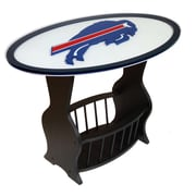 Fan Creations NFL Logo End Table; Buffalo Bills