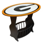 Fan Creations NFL Logo End Table; Green Bay Packers