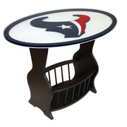 Fan Creations NFL Logo End Table; Houston Texans