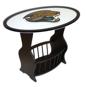 Fan Creations NFL Logo End Table; Jacksonville Jaguars