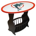 Fan Creations NFL Logo End Table; Miami Dolphins