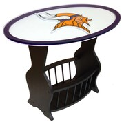 Fan Creations NFL Logo End Table; Minnesota Vikings