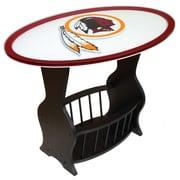 Fan Creations NFL Logo End Table; Washington Redskins