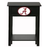 Fan Creations NCAA End Table; Alabama