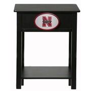 Fan Creations NCAA End Table; Nebraska