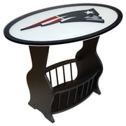 Fan Creations NFL Logo End Table; New England Patriots