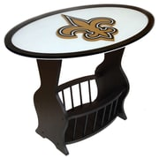 Fan Creations NFL Logo End Table; New Orleans Saints