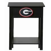 Fan Creations NCAA End Table; Georgia