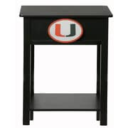 Fan Creations NCAA End Table; Miami