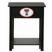 Fan Creations NCAA End Table; Texas Tech