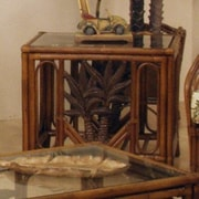 Hospitality Rattan Cancun Palm End Table