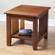 Alpine Furniture Mission Style End Table