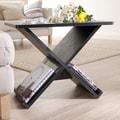 Hokku Designs Cross Braced End Table