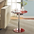 Altra Accent End Table; Red
