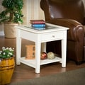 Wildon Home   Amberly End Table; White