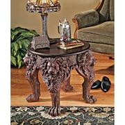 Design Toscano Lord Raffles Lion Leg End Table