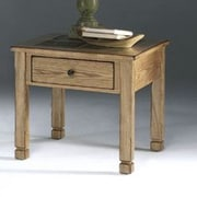Progressive Furniture Rustic Ridge End Table