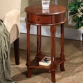 All Things Cedar Round Accent End Table