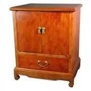 Oriental Furniture Burl End Table