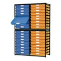 Storsystem 36 Tray  Extra Wide Stationary Metal Rack; Primary Blue