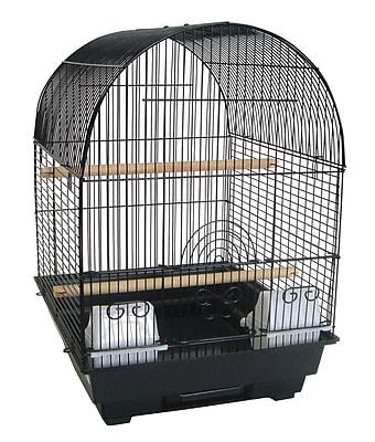 YML Round Dome Top Bird Cage; Black WYF078276262469