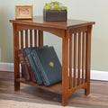 Carolina Cottage Hayden End Table; Chestnut