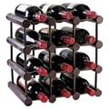 Wine Enthusiast Companies 12 Bottle Wine Rack; Mahogany