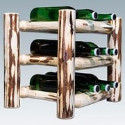 Montana Woodworks  Montana 9 Bottle Tabletop Wine Rack; Ready To Finish