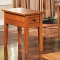 Steve Silver Furniture Liberty End Table; Multi-Step Oak