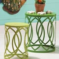 Cape Craftsmen Coastal Delights Nesting Table and Stool