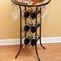 Cape Craftsmen 6 Bottle Wine Glass Rack; Black