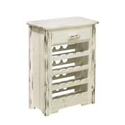Montana Woodworks  Montana 16 Bottle Floor Wine Rack; Stained