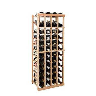 Wine Cellar Vintner Series 48 Bottle Floor Wine Rack; Unfinished