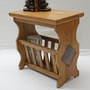 Alco Furniture International Magazine End Table
