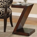 Coast to Coast Imports Accent ''Z'' End Table; Brown