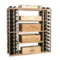 Wine Cellar Vintner 144 Bottle Wine Rack; Dark Walnut
