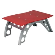 Pit Stop Furniture Racing Style Side Table; Red